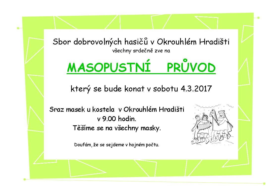 Masopust 2017