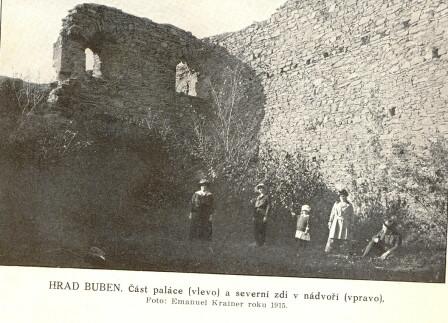 Rok 1915 - Turisté na Bubnu