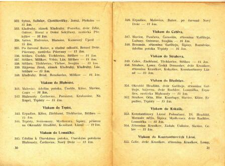 Rok 1925 - průvodce trampa